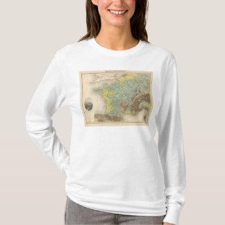 France hypsometric T-Shirt
