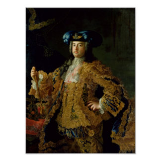 Francis I  Holy Roman Emperor and husband Poster