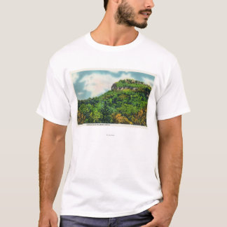 Franconia Notch State Park View of Indian Head T-Shirt