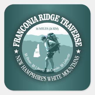 Franconia Ridge Traverse Square Sticker
