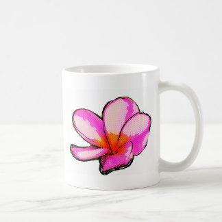 Frangipani Magenta Pop Coffee Mug