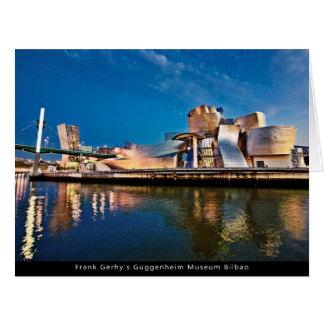 Frank Gerhy's Guggenheim Museum Bilbao Greeting Cards