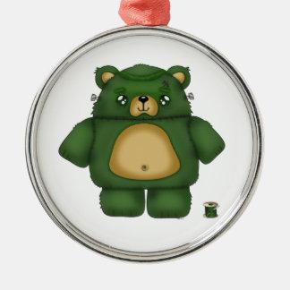 Frankenstein Bear Christmas Ornament