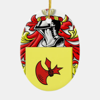 Frankenstein Coat of Arms Christmas Ornament