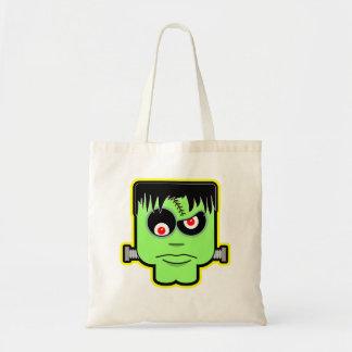 Frankenstein Halloween Trick or Treat Bag