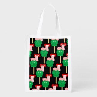 Frankenstein Ice Block Reusable Grocery Bag