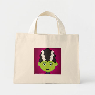Frankenstein's bride mini tote bag