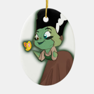 Frannystein and the Butterfly Christmas Ornament