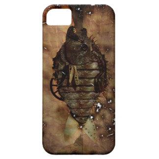 Freak Mech Fish Grunge Steam Punk Case For The iPhone 5