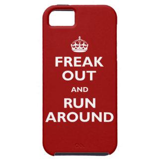 Freak Out & Run Around Tough iPhone 5 Case
