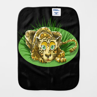 Freaky and Funny Leopard Burp Cloth