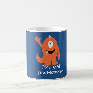 Fred and the Monster mug (monster)