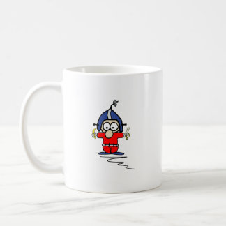 Fred Pinsocket 2-Sided Mug (White-R)