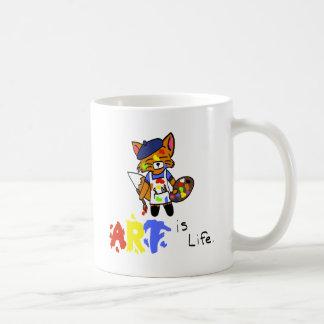 Fred the Fox- Artist Coffee Mug