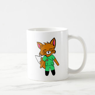 Fred the Fox- Nurse Coffee Mug