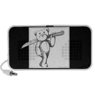 Freddy Bear PC Speakers