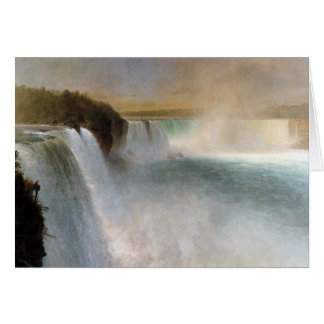 Frederic Edwin Church: Niagara Falls, From the USA Card