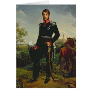 Frederic William III  King of Prussia, 1814 Card