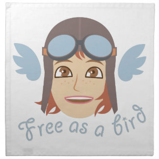 Free As Bird Napkin