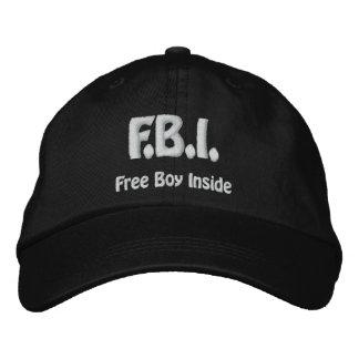 Free Boy Inside Baseball Cap