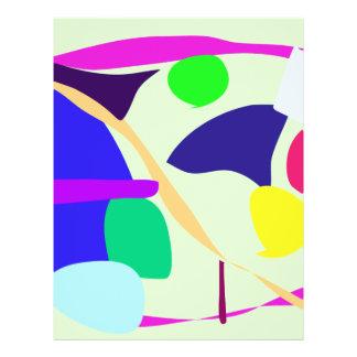 Free Circle Pale Green Flyer Design