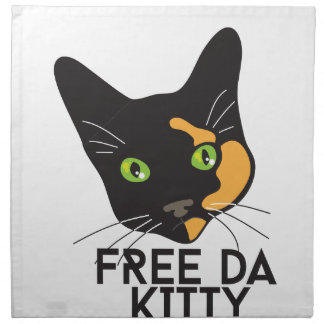 Free Da Kitty Napkin