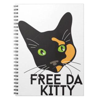 Free Da Kitty Notebook