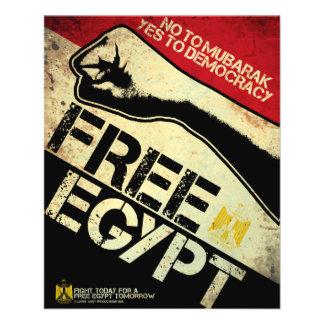 Free Egypt! 11.5 Cm X 14 Cm Flyer