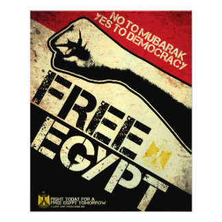 Free Egypt! Flyer Design