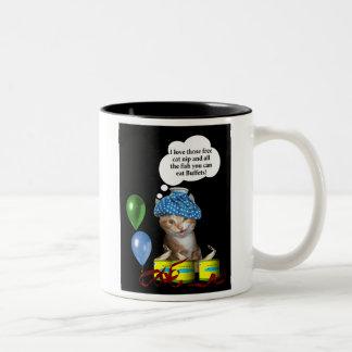 Free Fish! Mug