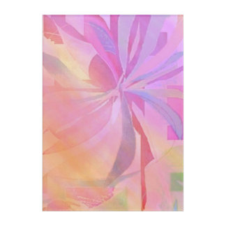 free flower abstract wall art