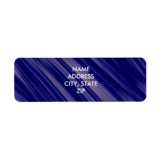 Free Flowing Movement Abstract Return Address Label