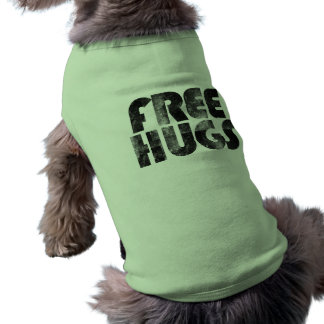 Free Hugs Sleeveless Dog Shirt