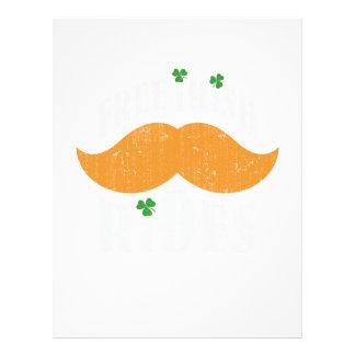 Free irish mustache rides personalized flyer