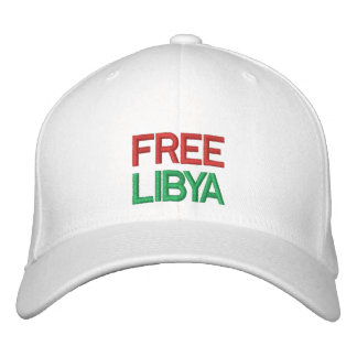 Free Libya Embroidered Hat
