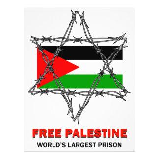 FREE PALESTINE flyers