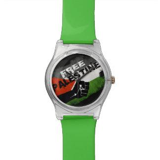 Free Palestine Wristwatch