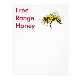 Free range 21.5 cm x 28 cm flyer