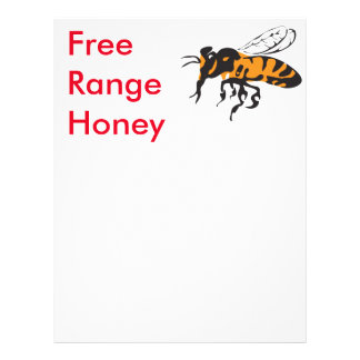Free range. flyer