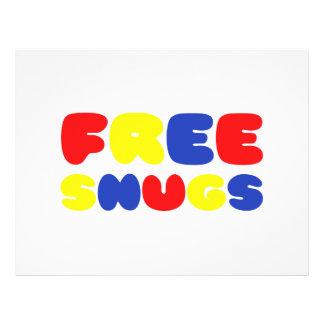 FREE SNUGS 21.5 CM X 28 CM FLYER