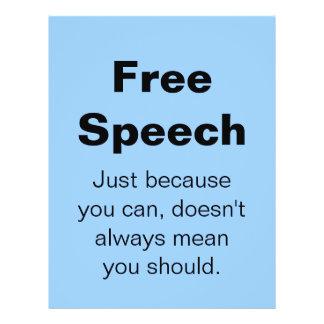 Free Speech Flyer