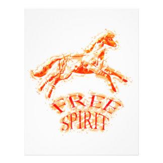 Free Spirit 21.5 Cm X 28 Cm Flyer