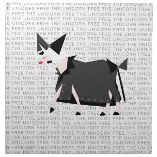Free The Unicorn Napkin