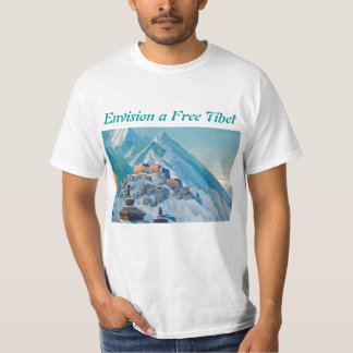 Free Tibet mens shirt