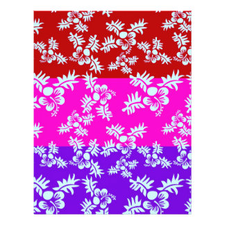 Free Vector Seamless Flower Pattern2 Personalized Flyer
