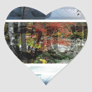 Free Your Mind Panoramic Scenery - Explore Worlds Heart Sticker