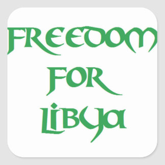 Freedom for Libya Stickers