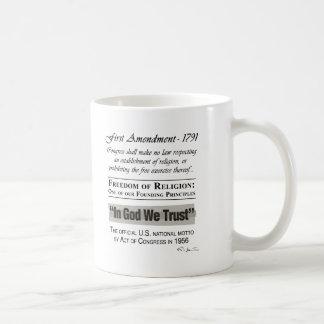 Freedom of Religion Basic White Mug