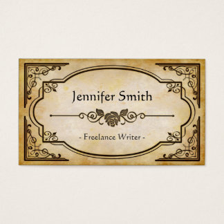 Freelance Writer - Elegant Vintage Antique