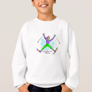 Freestyle Skier Sweatshirt